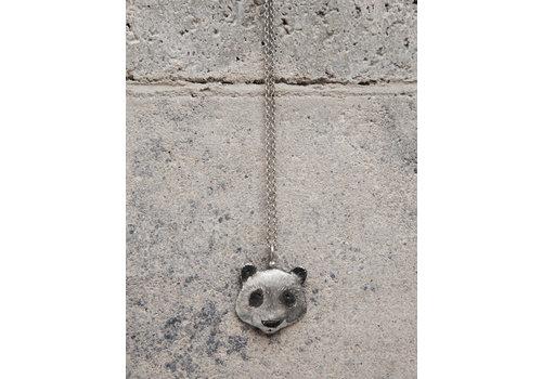 Michi Roman Michi Roman - Panda Necklace Silver