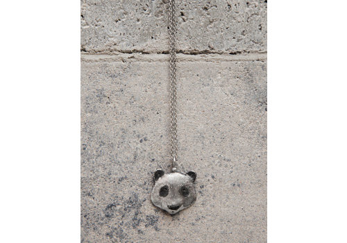 Michi Roman Michi Roman - Panda Necklace Sterling Silver