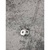 Michi Roman - Panda Necklace Silver