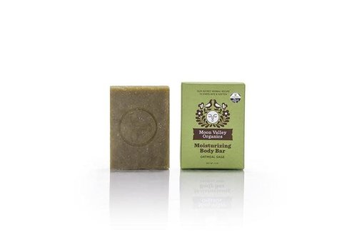 Moon Valley Moon Valley - Cleansing Body Bar - Oatmeal Sage