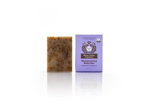 Moon Valley Moon Valley - Cleansing Body Bar - Lavender Calendula