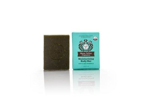 Moon Valley Moon Valley - Cleansing Body Bar - Mint Sea Mineral