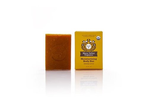 Moon Valley Moon Valley - Cleansing Body Bar - Orange Spice
