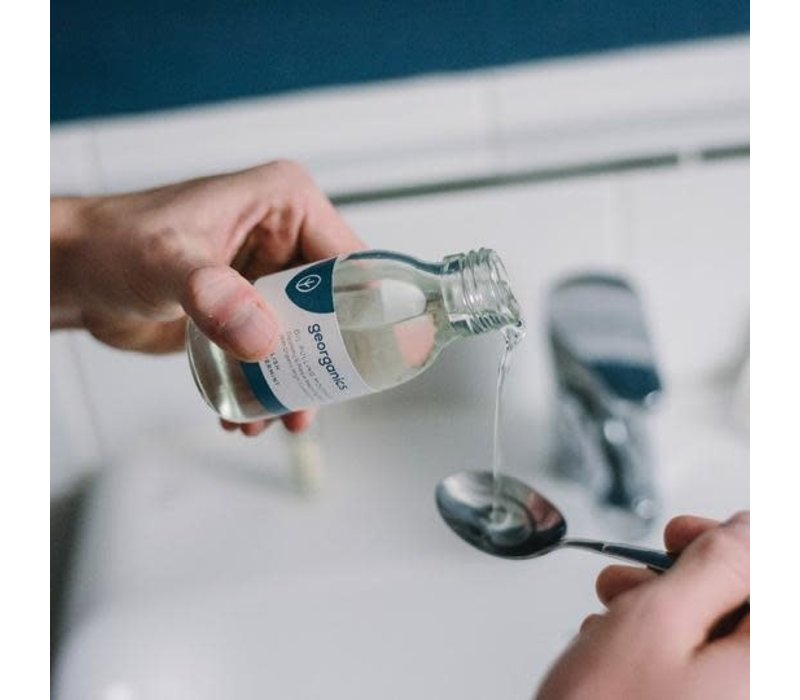 Georganics - Oil Pulling Mouthwash - English Peppermint 300ml