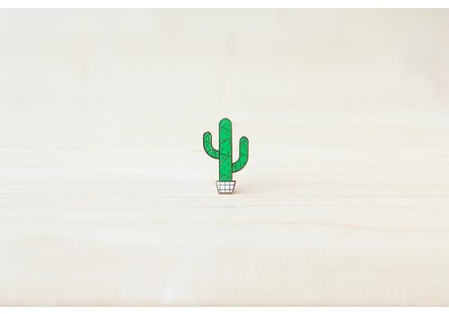 Hug a Porcupine Hug a Porcupine - Cactus Saguaro Brooch