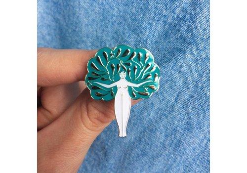 Lisa Junius Lisa Junius - Tree Woman Pin