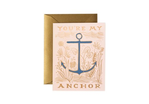 Rifle Paper Rifle Paper Co. - My Anchor - Greeting Card