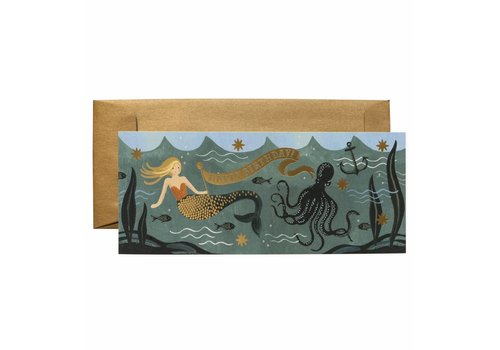 Rifle Paper Rifle Paper Co. - Under the Sea - Happy Birthday - Greeting Card
