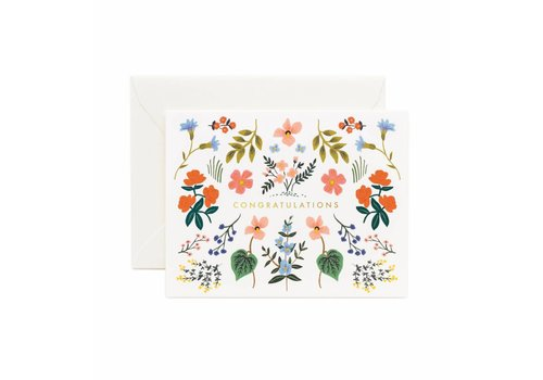 Rifle Paper Rifle Paper Co. - Wildwood Congrats - Greeting Card
