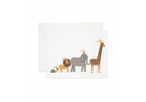 Rifle Paper Rifle Paper Co. - Party Parade - Greeting Card