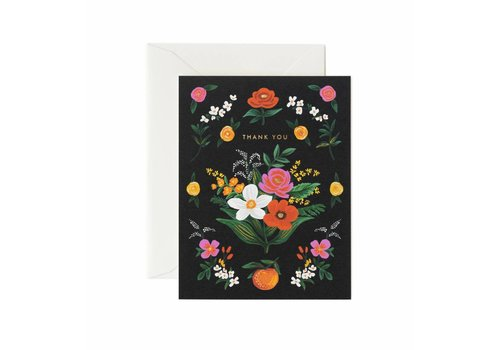 Rifle Paper Rifle Paper Co. - Orangerie Thank You - Greeting Card
