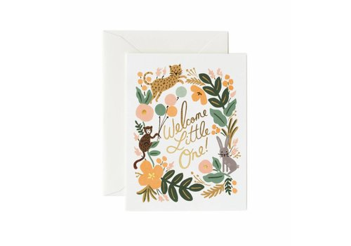 Rifle Paper Rifle Paper Co. - Menagerie Baby - Greeting Card