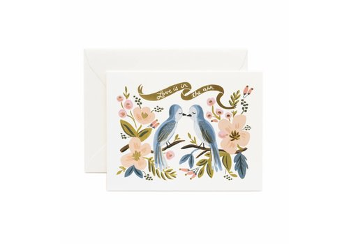 Rifle Paper Rifle Paper Co. - Love is in the Air - Greeting Card