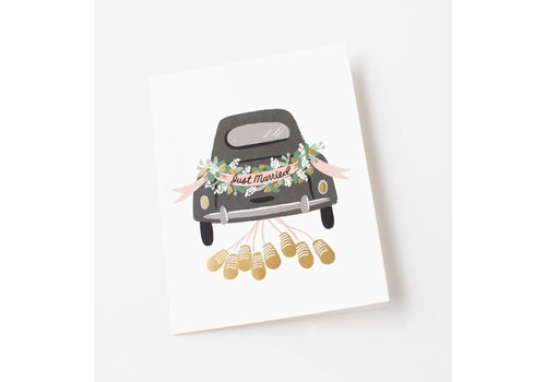 Rifle Paper Rifle Paper Co. - Just Married Getaway - Greeting Card