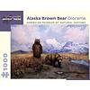 Pomegranate Pomegranate - Alaska Brown Bear Diorama - 1000 Pieces Puzzle