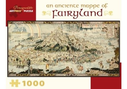 Pomegranate Pomegranate - An Anciente Mappe of Fairyland - 1000 Pieces Puzzle