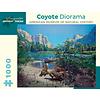 Pomegranate Pomegranate - Coyote Diorama - Puzzle