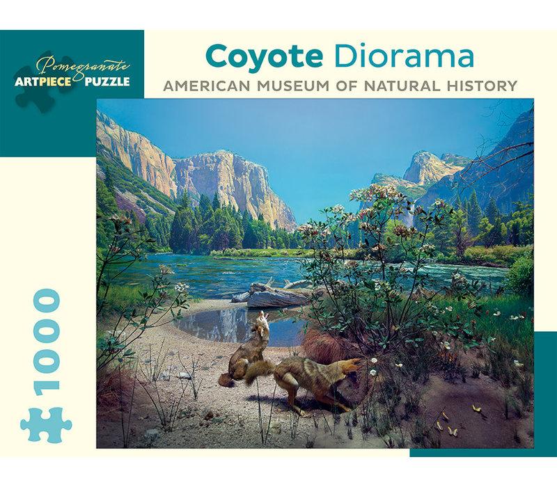 Pomegranate - Coyote Diorama - Puzzle