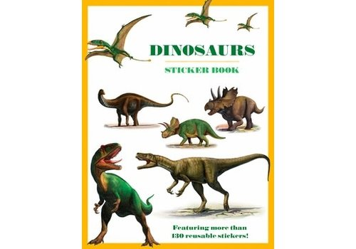 Pomegranate Pomegranate - Dinosaurs - Sticker Book