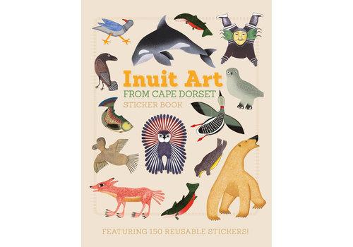 Pomegranate Pomegranate - Inuit Art Sticker Book - Sticker Book