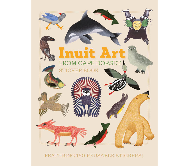Pomegranate - Inuit Art Sticker Book - Sticker Book