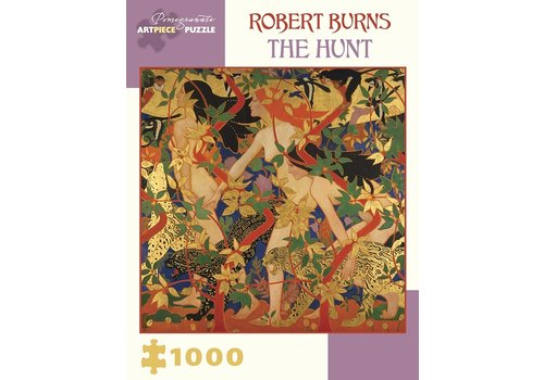 Pomegranate Pomegranate - Robert Burns: The Hunt - 1000 Pieces Puzzle
