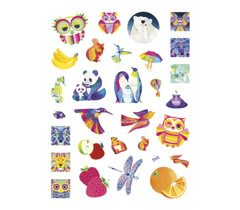Pomegranate - Shanti Sparrow: Dazzling Drawings - Sticker Book