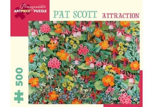 Pomegranate Pomegranate - Pat Scott: Attraction - 500 Pieces Puzzle