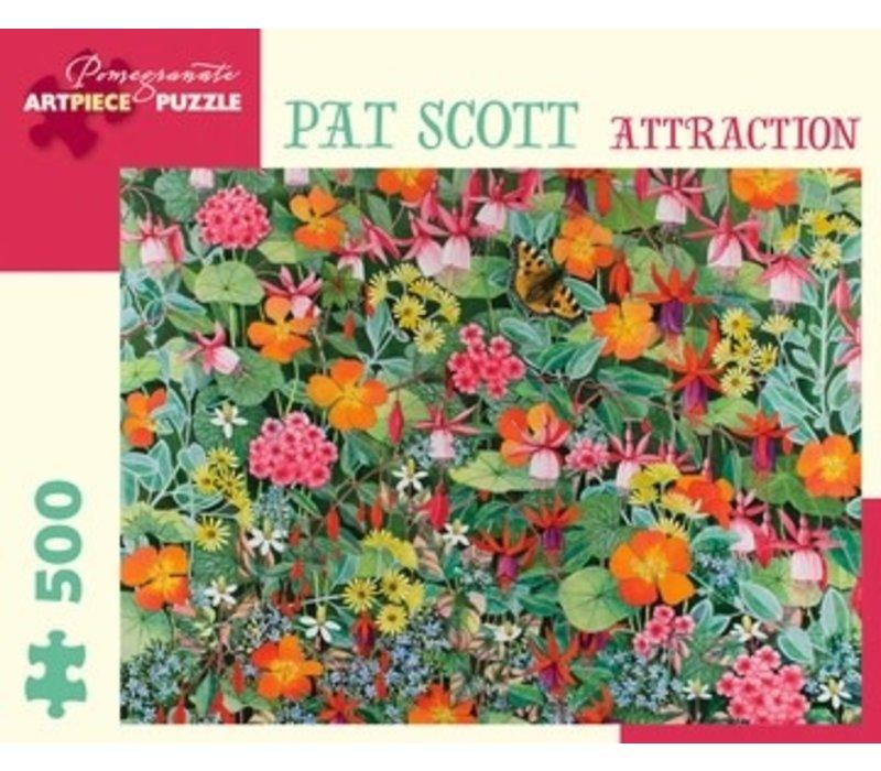 Pomegranate - Pat Scott: Attraction - 500 Pieces Puzzle