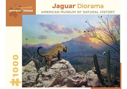 Pomegranate Pomegranate - Jaguar Diorama - 1000 Pieces Puzzle