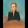 Alicia Borssen Alicia Borssen - Lady With Black Jacket - A5 Prints