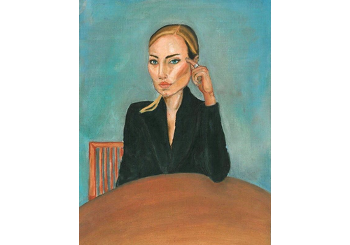 Alicia Borssen Alicia Borssen - Lady With Black Jacket - A5 Prints