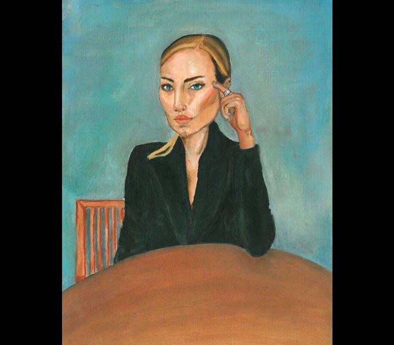 Alicia Borssen - Lady With Black Jacket - A5 Prints