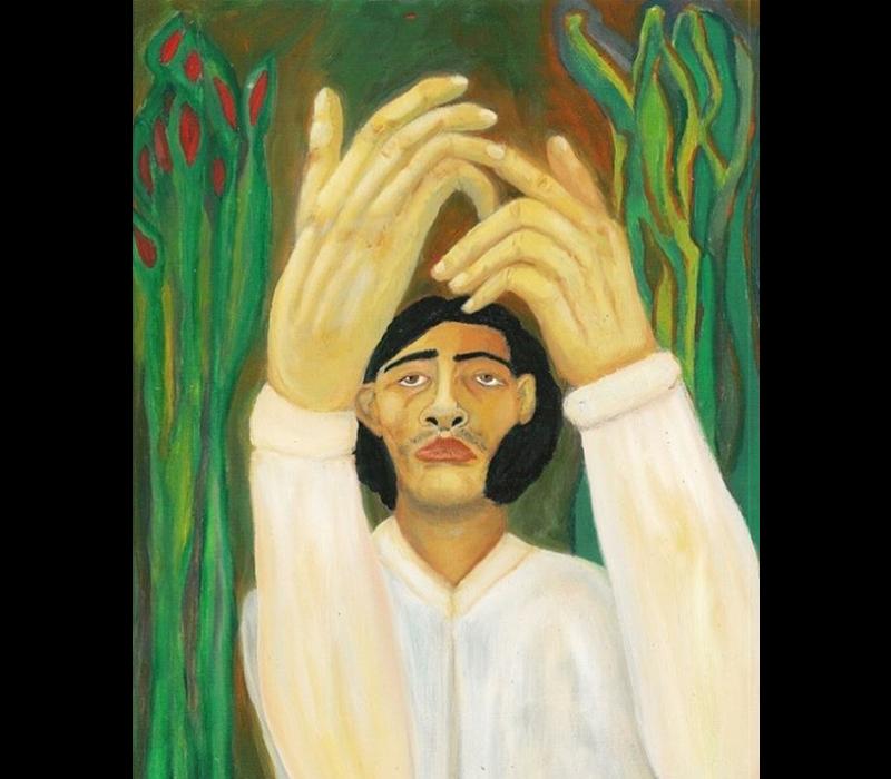 Alicia Borssen - Hand Man  - A3 Print