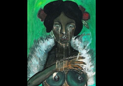 Alicia Borssen Alicia Borssen - Crying Lady - A5 Prints