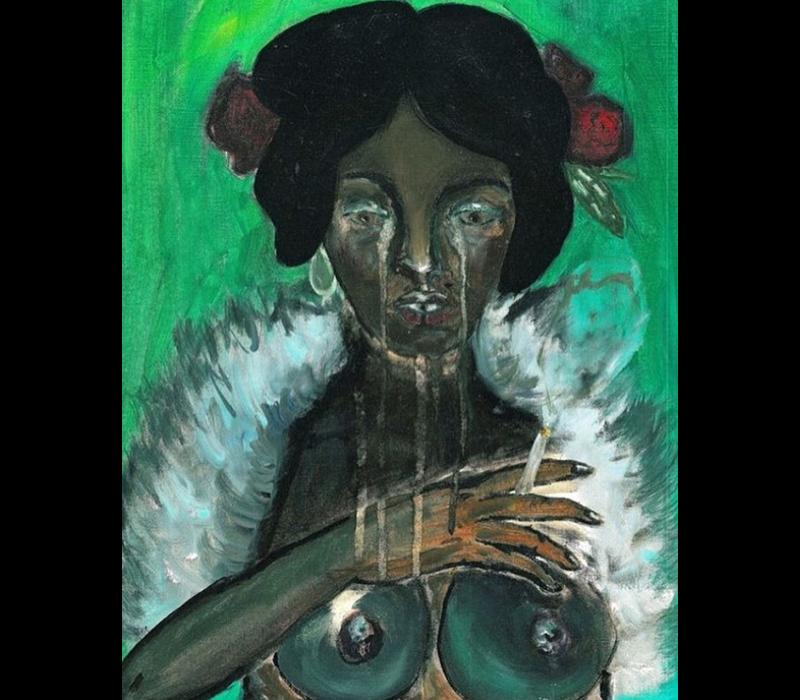 Alicia Borssen - Crying Lady - A5 Prints
