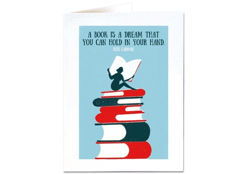Archivist Gallery Archivist Gallery - A book is a Dream - Greeting Card