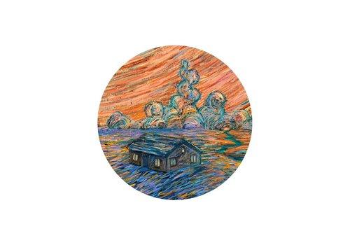 Prisma Visions James R. Eads - So Far Away - Sticker