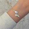 Âme âme - Hands - Silver Bracelet