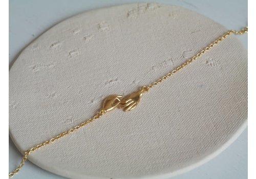 Âme âme - Hands - Gold Bracelet