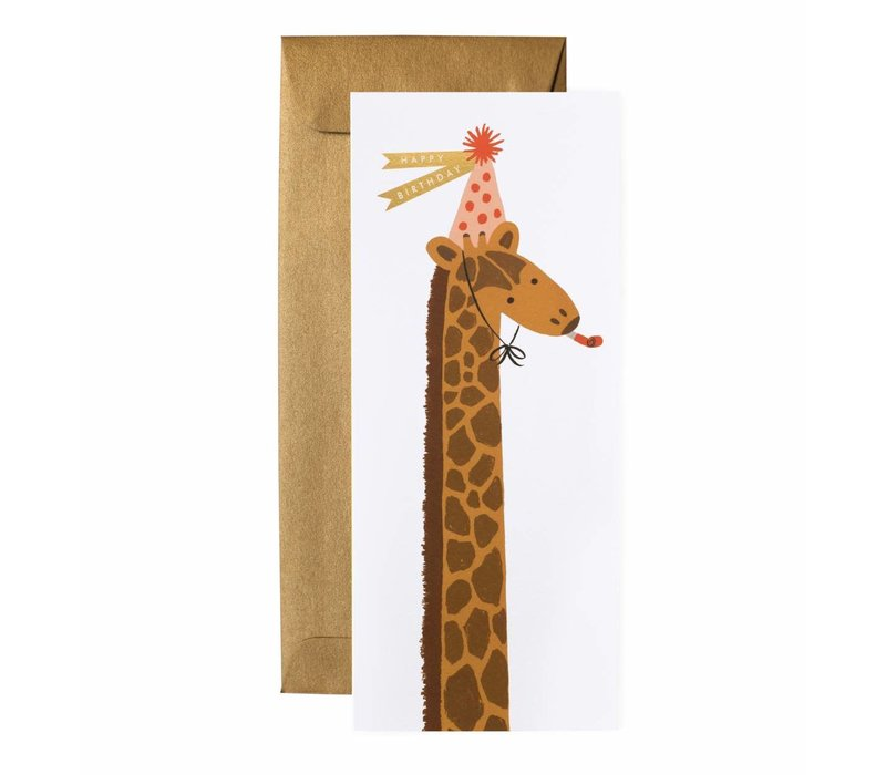 Rifle Paper - Birthday Giraffe - Greeting Card