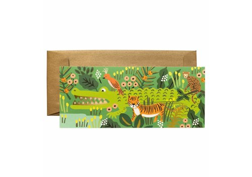 Rifle Paper Rifle Paper - Alligator Birthday - Greeting Card