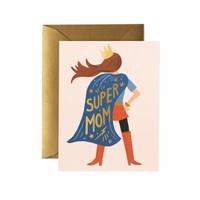 Rifle Paper - Super Mom - Greeting Card