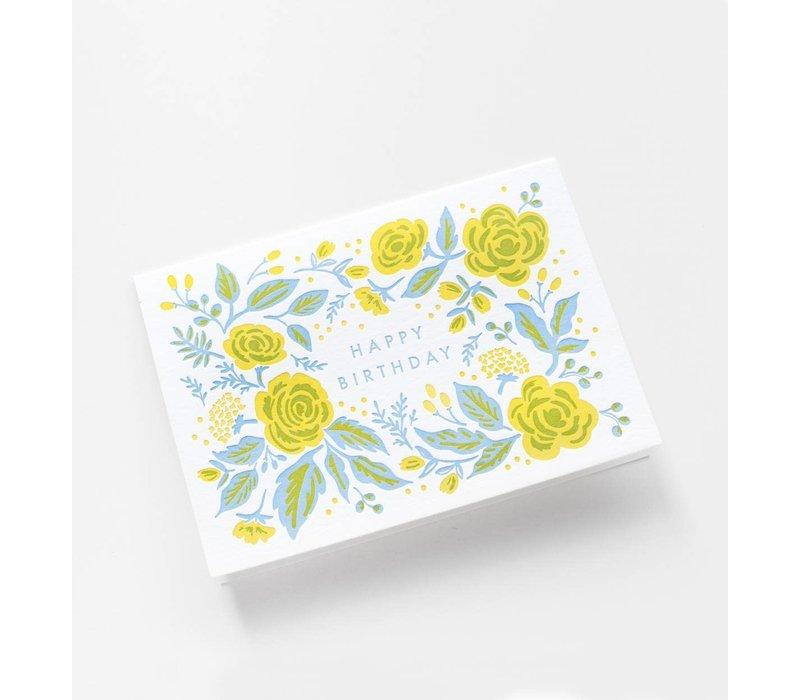 Rifle Paper - Jardin Birthday - Greeting Card