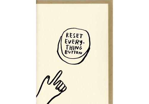 People I've Loved People I've Loved - Reset Button - Greeting Card