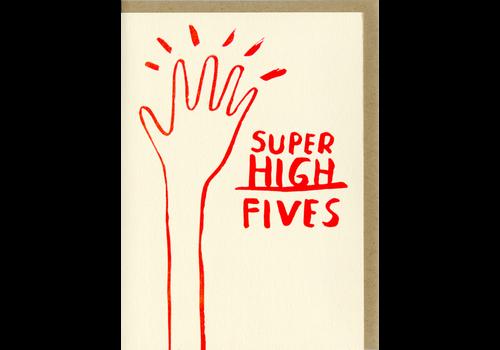 People I've Loved People I've Loved - Super High Five - Greeting Card