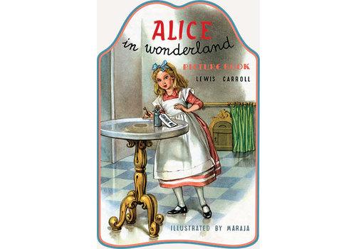 Laughing Elephant Laughing Elephant - Alice in Wonderland - Shape Book