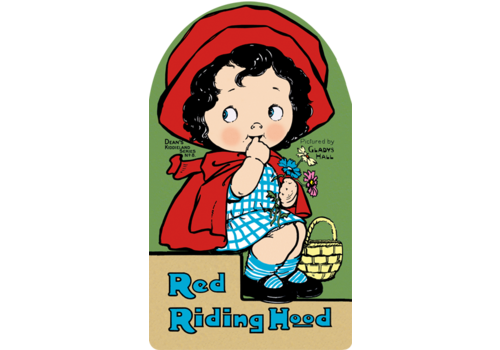 Laughing Elephant Laughing Elephant - Red Riding Hood - Shape Book