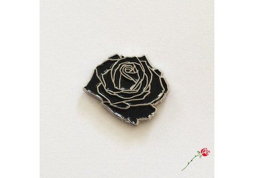 Inner Decay Inner Decay - Black Rose Pin