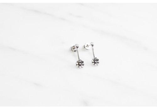 Datter Industries Datter Industries - Aster Drop Earrings - Silver